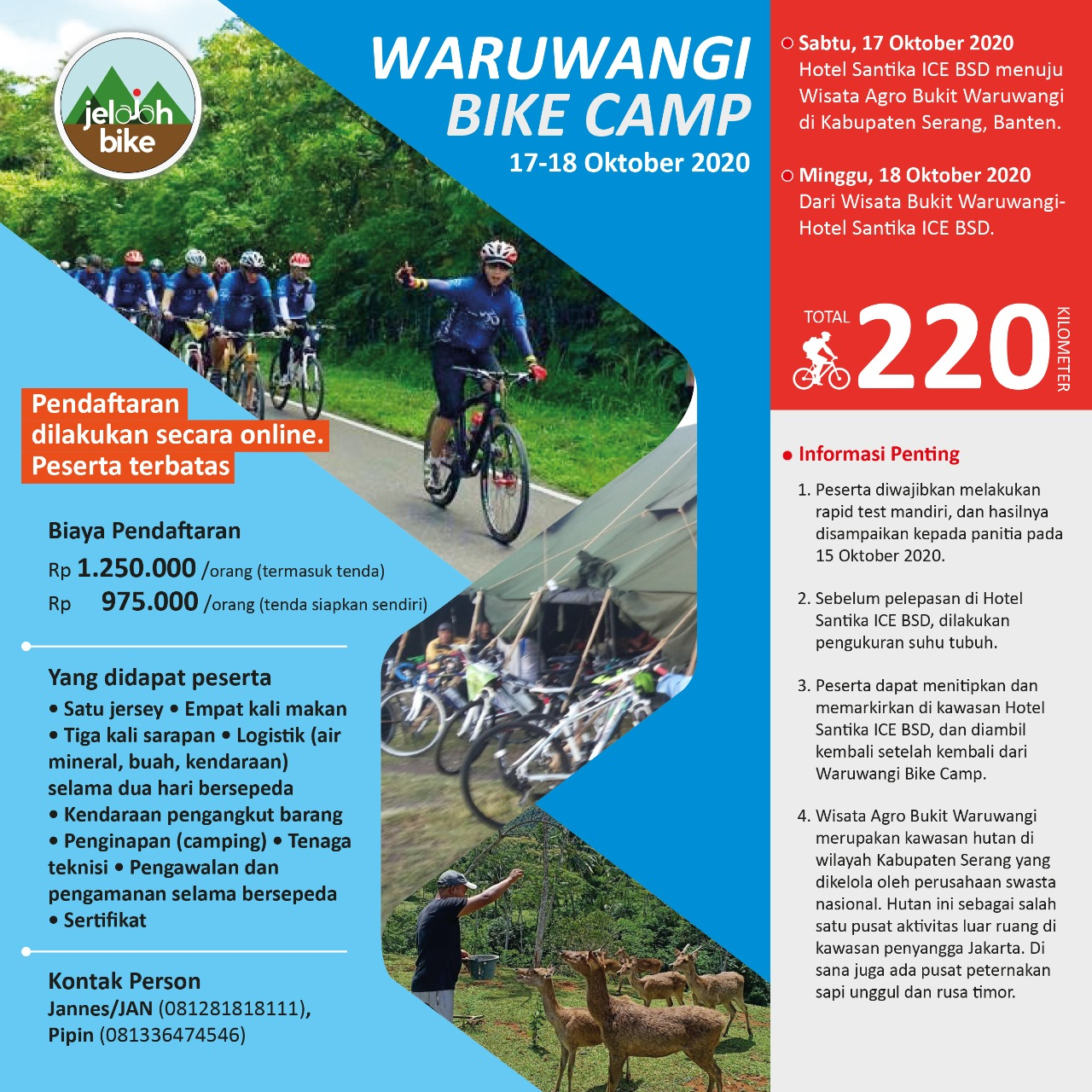 Waruwangi Bike Camp 2020